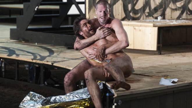 Von wegen gesittet: Shakespeare-Stücke («King Lear») kokettieren mit Homoerotik. Foto: Laif/Jean-Marc Zaorski
