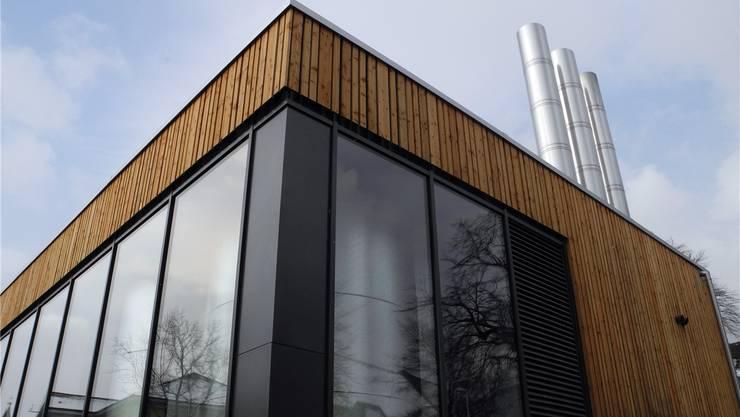 Eines von vielen Puzzlestücken im Energierichtplan: Die Heizzentrale des Nahwärmeverbunds Zentrum.