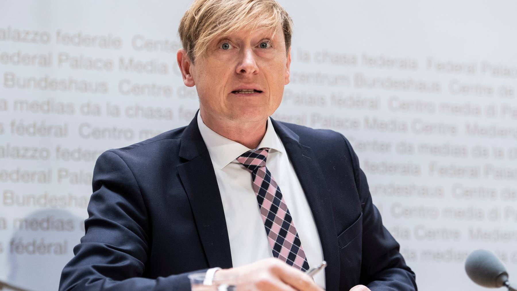 Der Schweizer Preisüberwacher Stefan Meierhans präsentierte seinen Jahresbericht 2019.