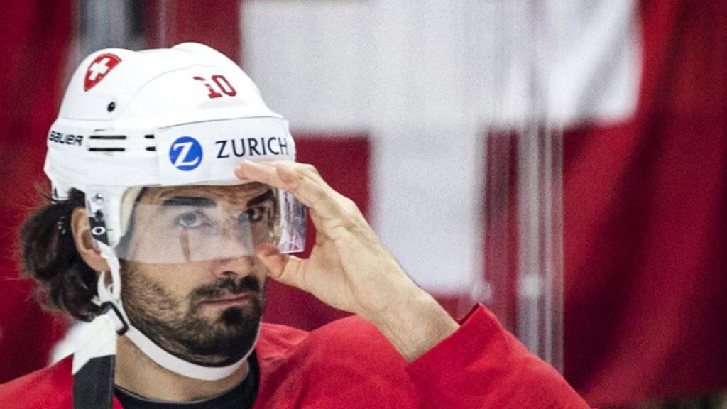 Routinier Andres Ambühl zeichnete sich gegen Norwegen als Doppel-Torschütze aus