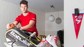 Joshua Zeoli wird in den USA studieren und Tennisspielen.