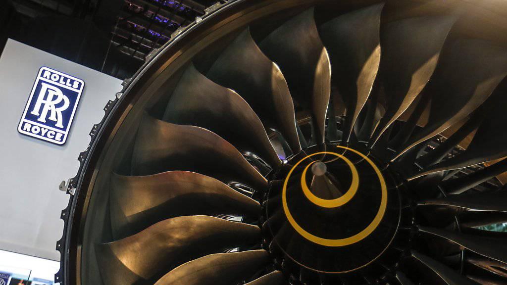 Rolls-Royce verschärft seinen Sparkurs und streicht 4600 Stellen (Archiv)