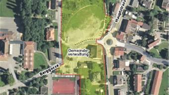 Für den gelb markierten Bereich konnten die Kölliker am Workshop Ideen zur zukünftigen Nutzung liefern.
