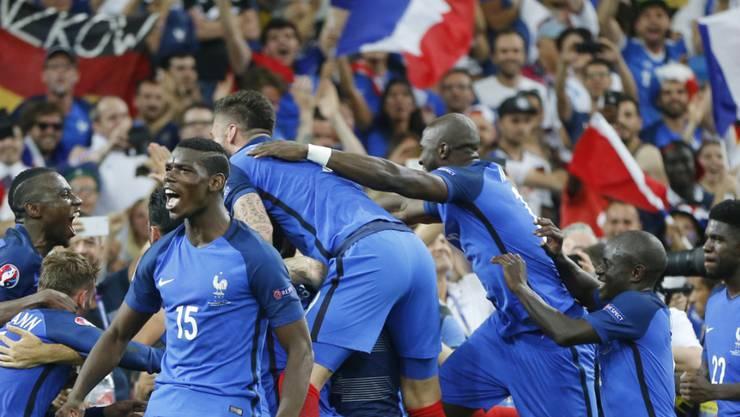 Frankreich ist nach dem Finaleinzug im Freudentaumel