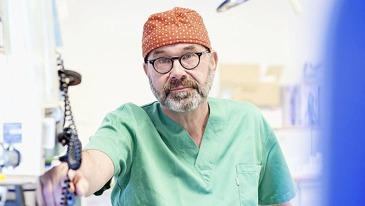Clemens Schiestl, Leiter des Zentrums für brandverletzte Kinder, Plastische und Rekonstruktive Chirurgie am Kinderspital Zürich