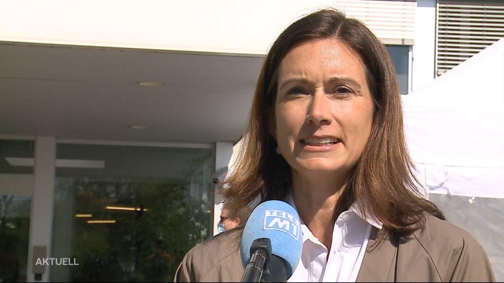 FDP-Nationalrätin Maja Riniker zu Besuch im Zivilschutz