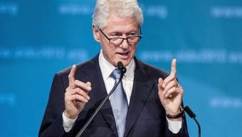 Seit Jahren im Kampf gegen Aids stark engagiert: Bill Clinton