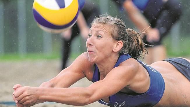 Zeigte Moral: Andrea Müller erkämpft sich mit Denja Frei den vierten Turniersieg in Serie.