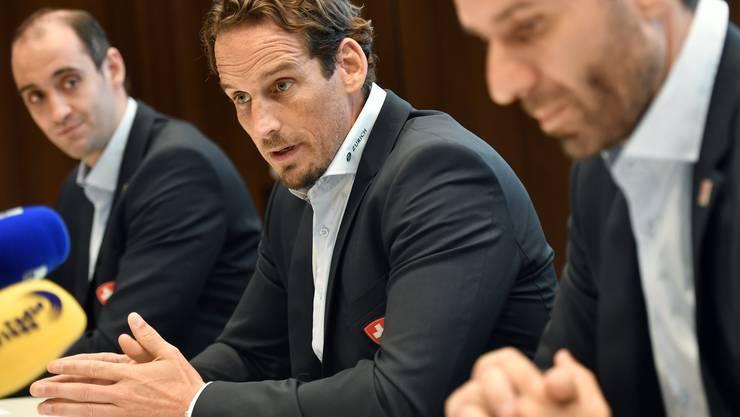 Bleibt – wenn alles gutgeht – bis 2024 Schweizer Eishockey-Nationaltrainer: Patrick Fischer.