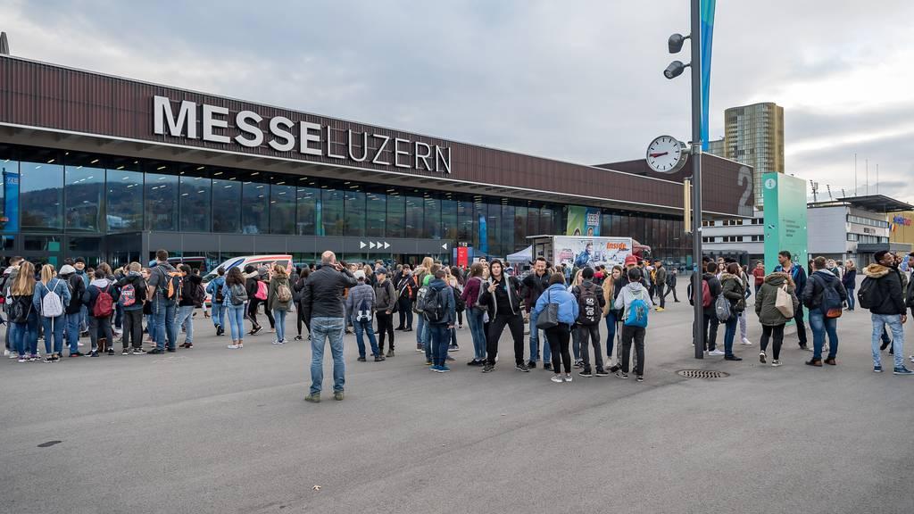Die Zentralschweizer Bildungsmesse Zebi - Messe Luzern