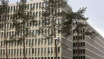 BND-Hauptsitz in Berlin. Der deutsche Nachrichtendienst hat auch rund ein Dutzend Niederlassungen von Schweizer Firmen in Österreich abgehört. (Archivbild)