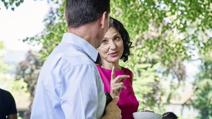 SP-Aargau-Präsidentin Gabriela Suter warnte schon lange vor einer ruinösen Prämienverbilligungs-Politik – nun will die SP den Kanton verklagen.