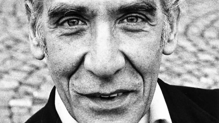 Ein Porträt des Basler Schauspielers Lukas Ammann, aufgenommen am 27. September 1982. Am Mittwoch ist er gestorben. (Archivbild)
