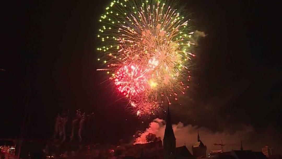 Schluss-Feuerwerk und andere Badenfahrt-Höhepunkte