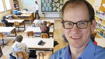 Lucius Hartmann ist Präsident des Gymnasiallehrervereins.