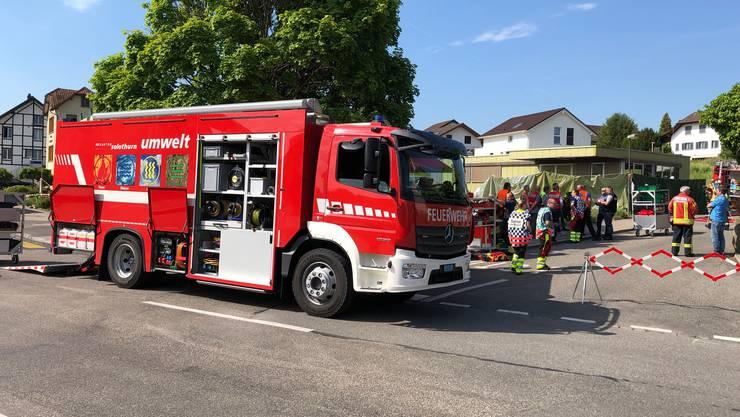 Chemieunfall in Horriwil  am 5.Juni 2019