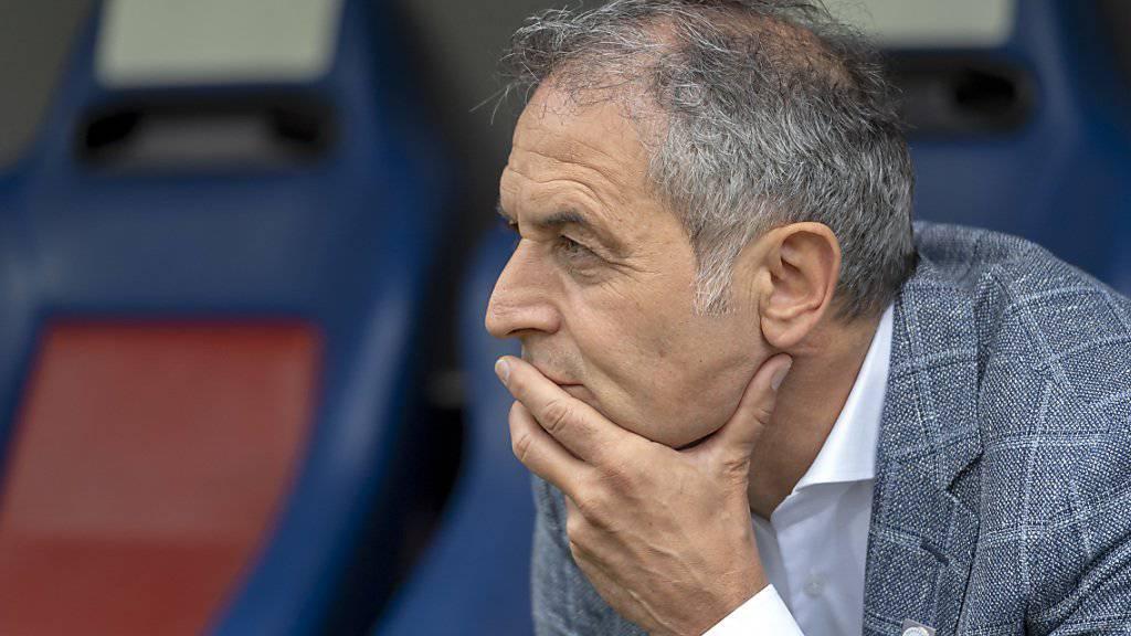 Basels Trainer Marcel Koller kann derzeit längst nicht alles gefallen