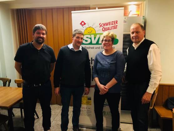 SVP-Däniken Vorstand
