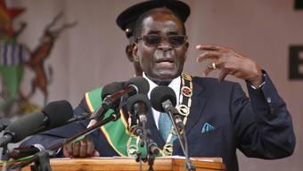 Simbabwes Präsident zieht am Unabhängigkeitstag über die gleichgeschlechtliche Liebe her.