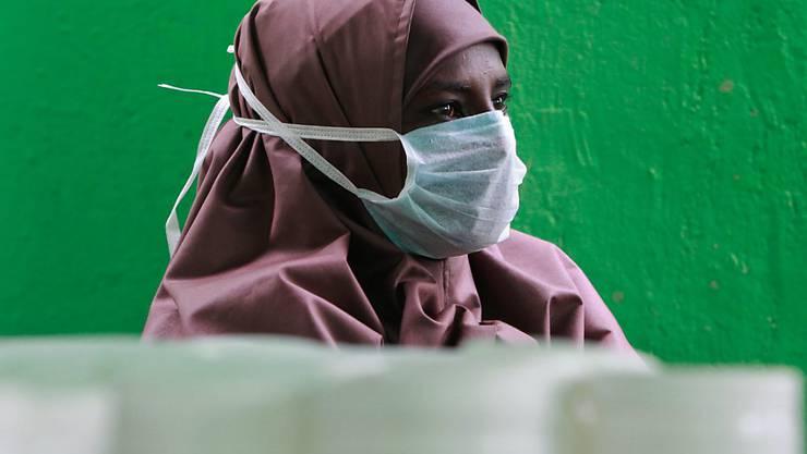 Eine an der multiresisten Tuberkulose erkrankte Kenianerin in Nairobi (Archiv)