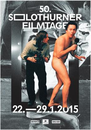Das Hauptplakat der Solothurner Filmtage, das auch auf dem Programmheft abgedruckt ist.