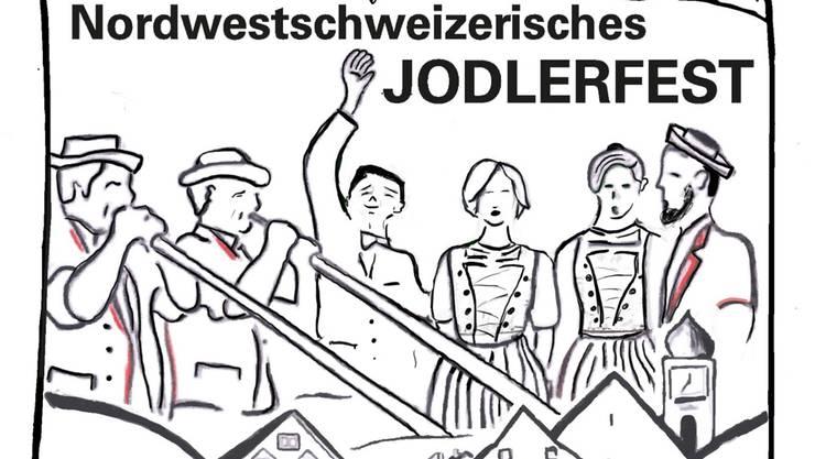 Das Logo des 31. Nordwestschweizerischen Jodlerfests.