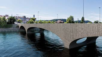 Visualisierungen Pont Neuf in Aarau