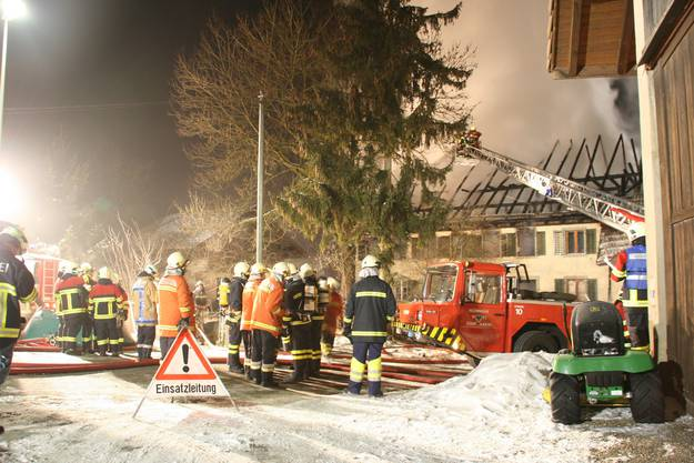 Brand in Hallwil