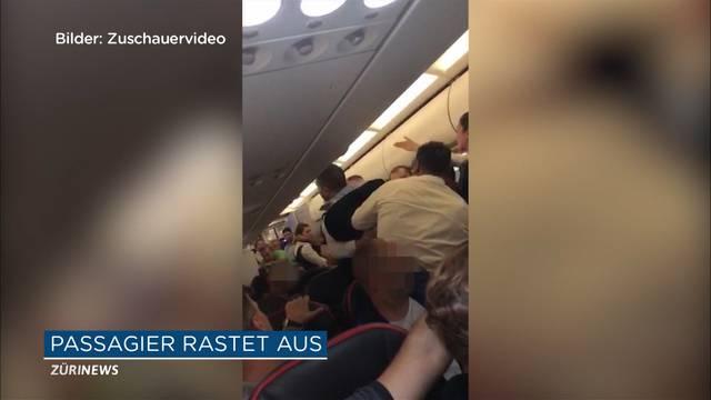 Flughafen Zürich: Mann rastet in Türkisch-Airlines aus