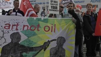 Demonstrierende in London