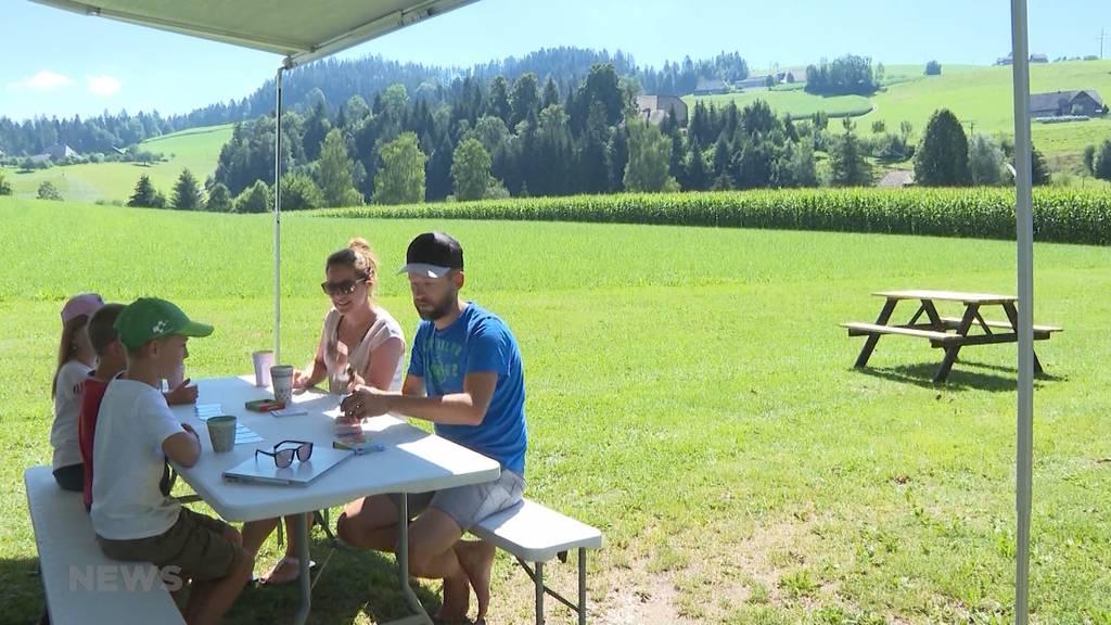 """Neues Geschäfts-""""Feld"""" für Bauern: Campieren auf dem Hof ist der neuste Trend"""