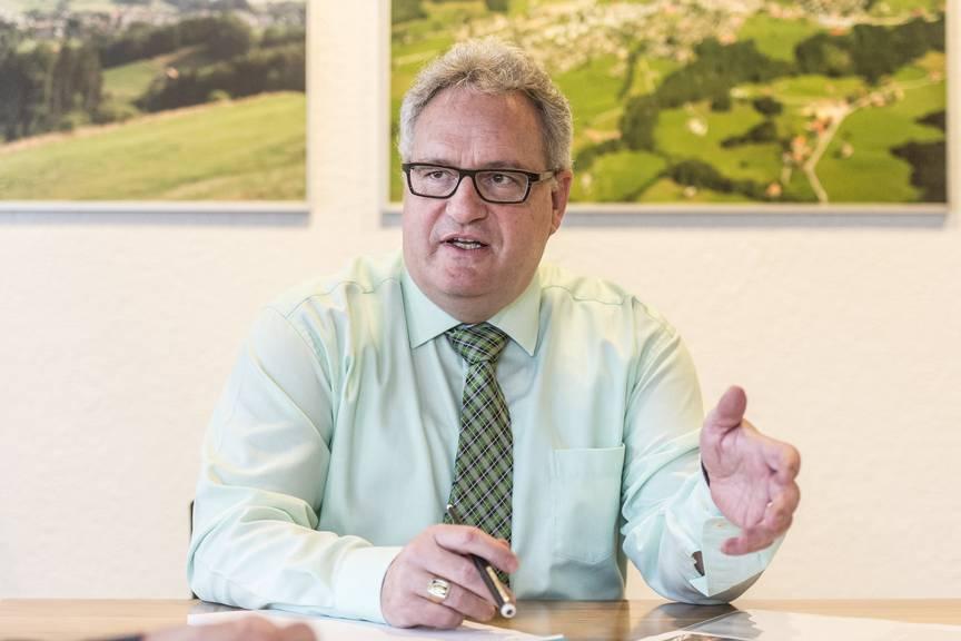 Roger Hochreutener weigert sich, seinen Lohn öffentlich zu machen. Bild: Tagblatt/Hanspeter Schiess