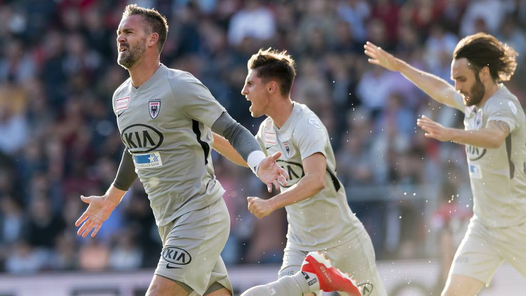 FC Aarau mit einem Bein in der Super League