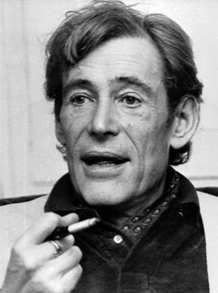 Peter O'Toole während eines Interviews im Jahr 1980.