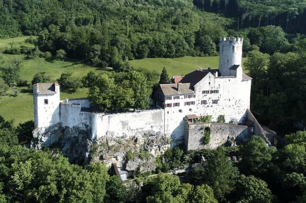 Idylllisch gelegen und für eine Hochzeitsfeier ideal ist auch das Schloss Neu-Bechburg.