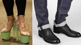 Zeig mir deine Schuhe und ich sag dir, wer du bist.