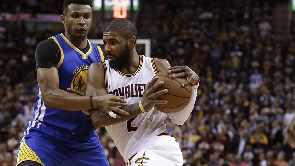 Nicht zu stoppen: Clevelands Kyrie Irving (Nummer 2)