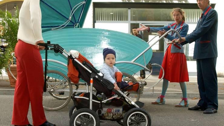 Beruf und Familie: Unkonventionelle Ideen sind gefragt (Bild vom Figura Theaterfestival, 2004). Alex Spichale