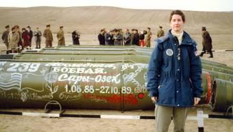 Die frühere US-Diplomatin Eileen Malloy überwachte 1990 in Kasachstan die Vernichtung von Raketen aus Sowjetischer Ära unter dem INF-Vertrag. (Archivbild)