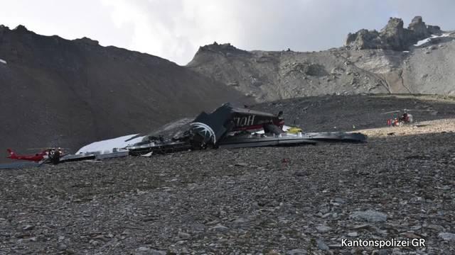 Bergungsarbeiten nach Ju-52-Absturz (5.8.2018)