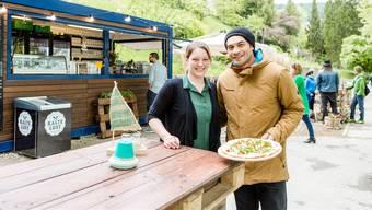 Fabienne und Jay Tanoa haben vergangenen Mai die «Kajüte» eröffnet.