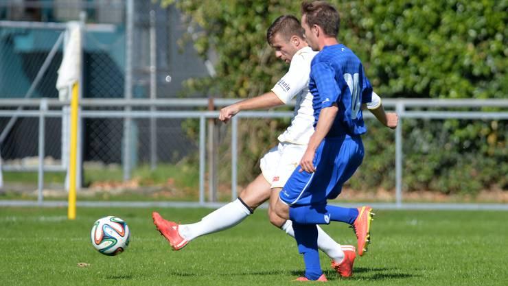 Der FC Grenchen war gegen das Team Aargau U21 völlig chancenlos (Archivbild).