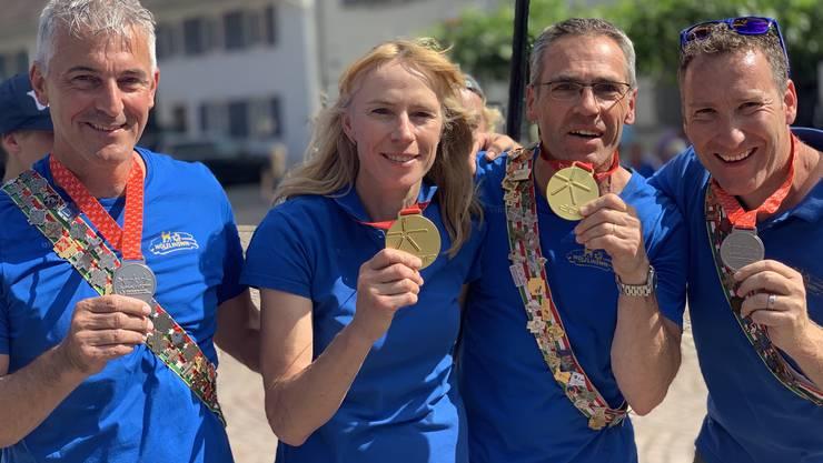 Ursula Müller und Isidor Treier sind Turnfestsieger im Turnwettkampf