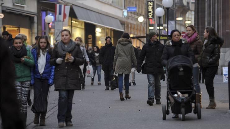 Die Basler Innerstadt bietet eine andere Form von Aufenthaltsqualität als ein Shoppingcenter.