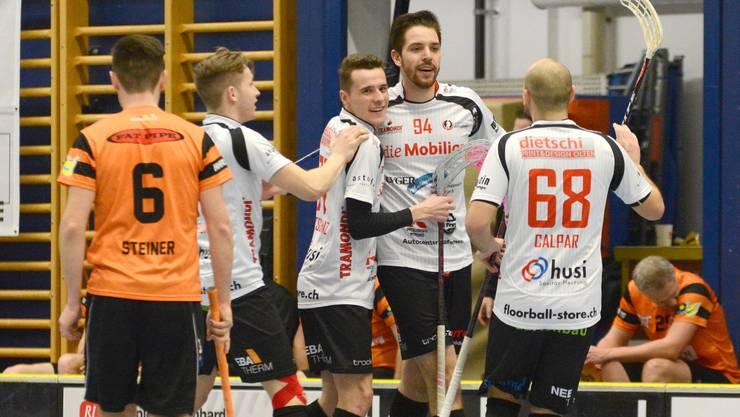 Vor einer Woche feierte Mittelland den wichtigen Sieg gegen Worblental.