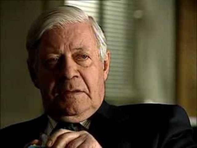 «Idiotische, hirnverbrannte Ideologie»: Die selbe Alt-Bundeskanzler Helmut Schmidt über die RAF