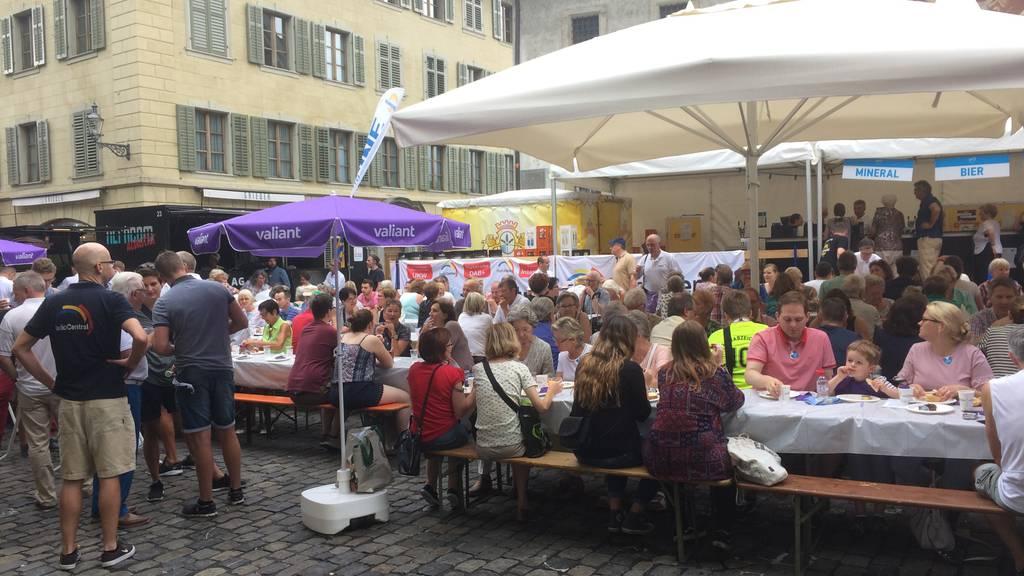 Das Luzerner Fest startet mit dem Bäckerzmorge