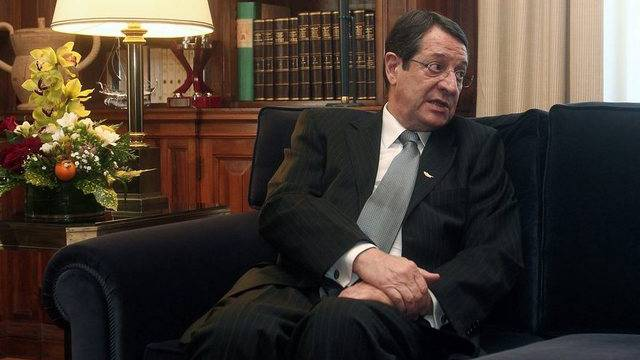 Der zyprische Präsident Nikos Anastasiadis (Archiv)