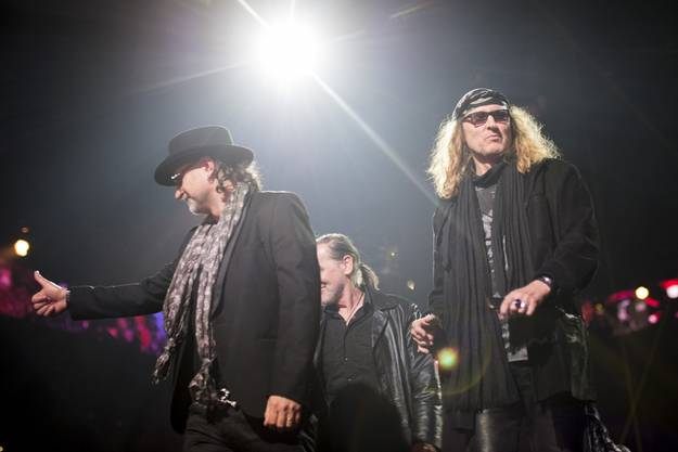 Krokus bei den Swiss Music Awards 2015.
