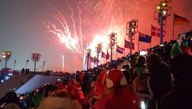 Das Olympische Feuer brennt!